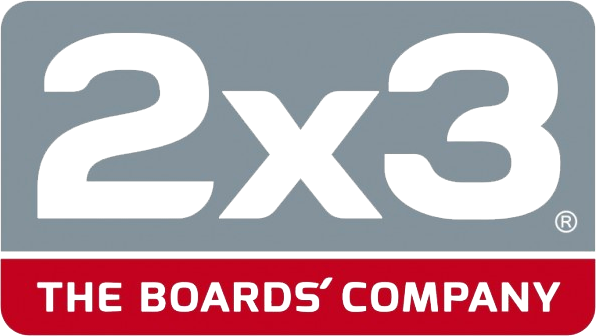 2 x 3 The boards'company